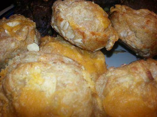 Garlic and Cheddar Muffins
