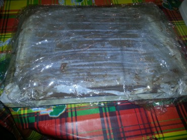 Wrap tightly with plastic wrap then refrigerate overnight